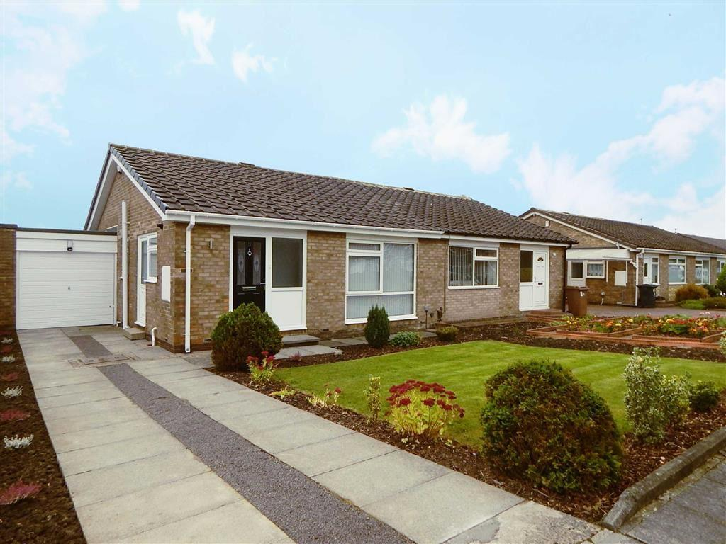 2 Bedrooms Semi Detached Bungalow for sale in Alder Road, Hadrian Park, Wallsend, NE28
