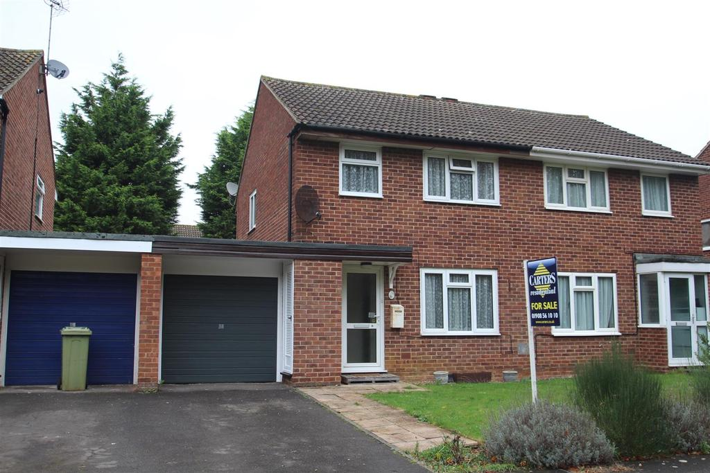 3 Bedrooms Semi Detached House for sale in Withington, Bradville, Milton Keynes