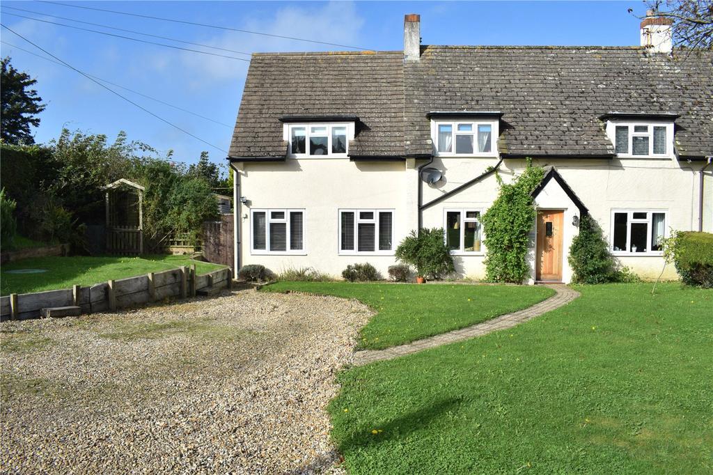 3 Bedrooms Semi Detached House for sale in Quarrs Close, North Bowood, Bridport, Dorset