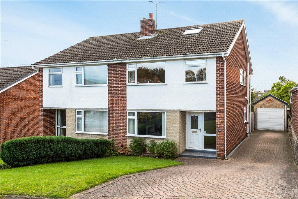 3 Bedrooms Semi Detached House for sale in Aspin Park Drive, Knaresborough, North Yorkshire