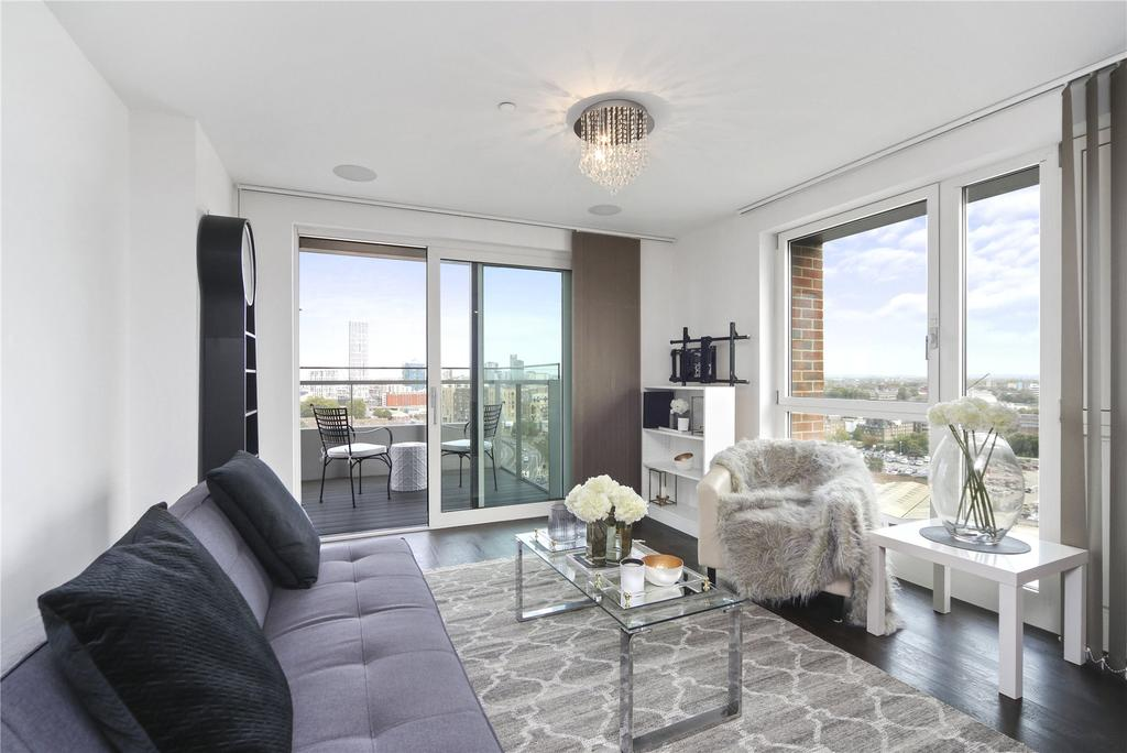 3 Bedrooms Flat for sale in Marner Point, Jefferson Plaza, London, E3