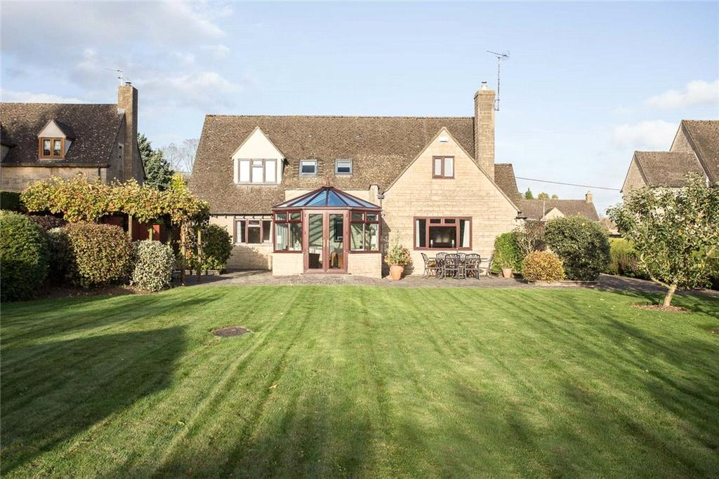 4 Bedrooms Detached House for sale in Syreford Road, Shipton Oliffe, Cheltenham, GL54