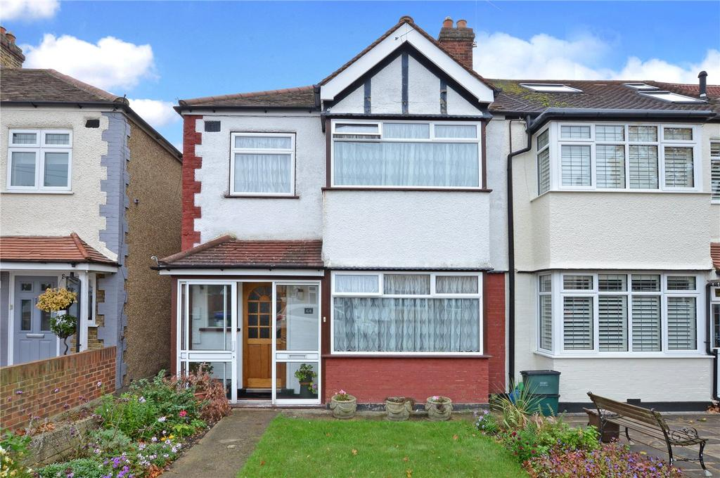 3 Bedrooms End Of Terrace House for sale in Buxton Crescent, Cheam, Sutton, SM3