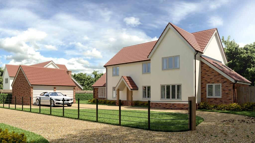 5 Bedrooms Detached House for sale in Heath Loke, Poringland, Norwich
