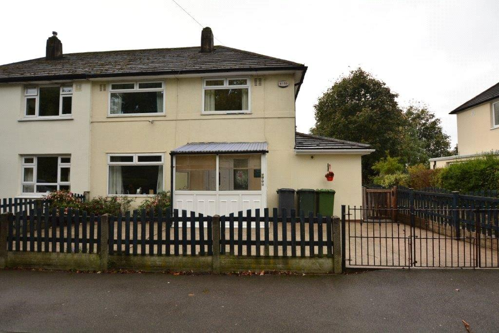 4 Bedrooms Semi Detached House for sale in Iveson Drive, West Park, Leeds