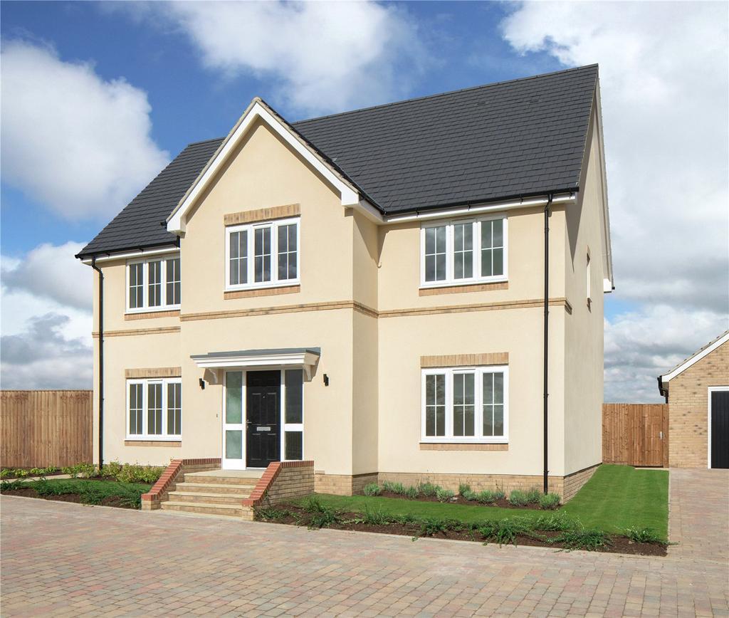 5 Bedrooms Detached House for sale in Wicken Lea, Bury Water Lane, Newport, Saffron Walden, CB11