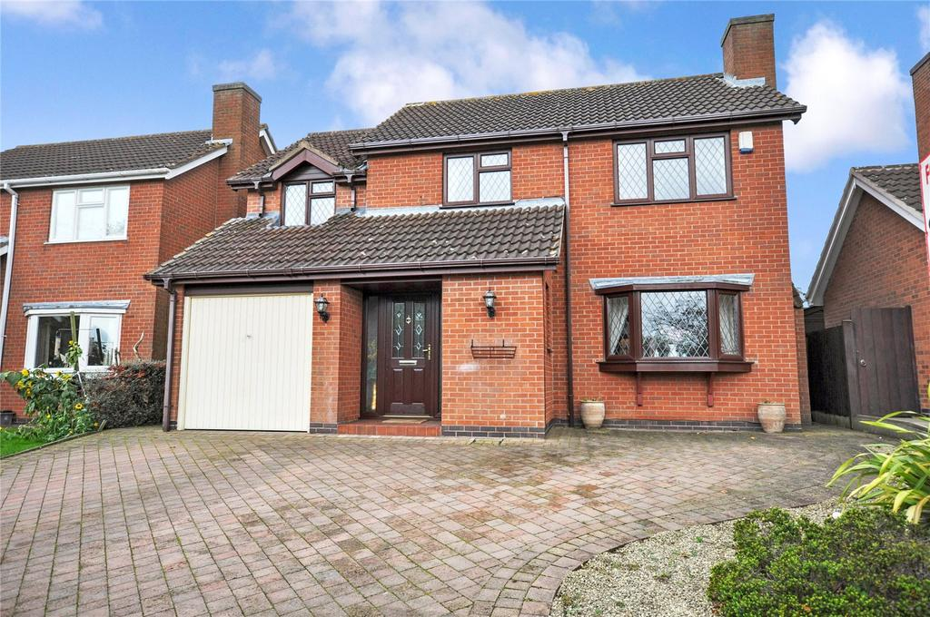 4 Bedrooms Detached House for sale in Winchester Drive, Melton Mowbray, Leicestershire