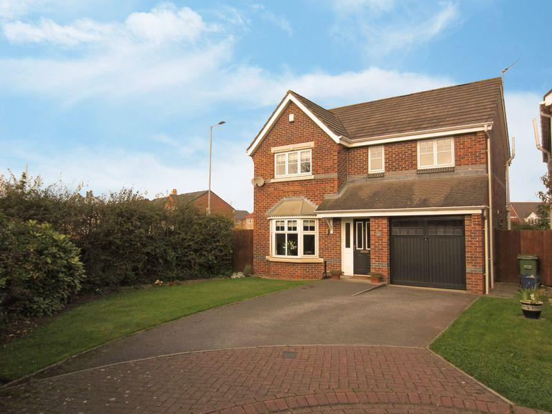 4 Bedrooms Detached House for sale in Ettersgill Close, Hunters Green, Eaglescliffe TS16 0GJ