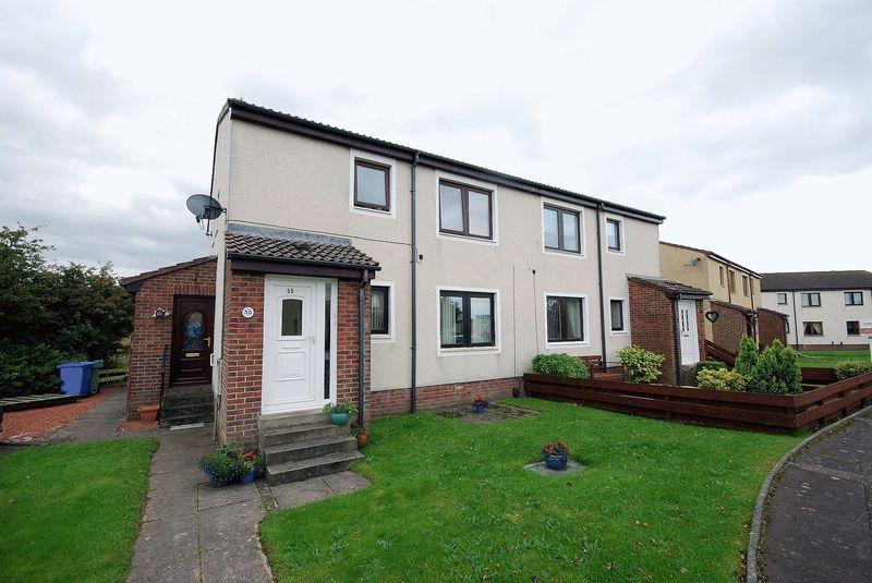 2 Bedrooms Ground Flat for sale in 57 Anderson Crescent, Prestwick, KA9 1EJ