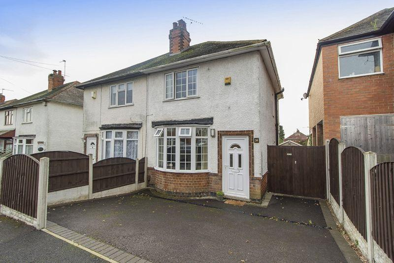 2 Bedrooms Semi Detached House for sale in WILSTHORPE ROAD, CHADDESDEN