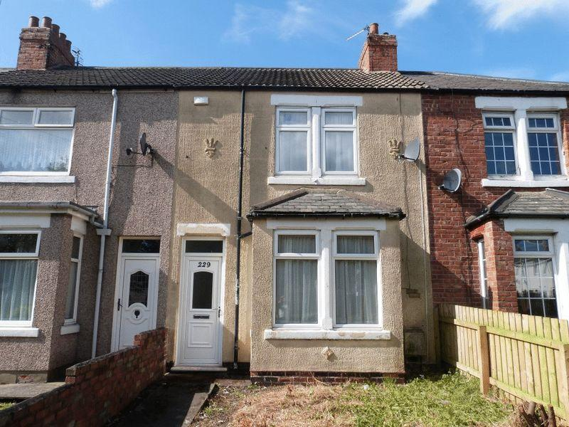 2 Bedrooms Terraced House for sale in Alexandra Road, Ashington, Two Bedroom Terraced House