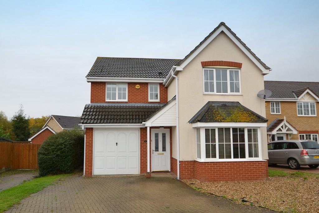 4 Bedrooms Detached House for sale in Jaguar Close, Ipswich, IP1 5QF