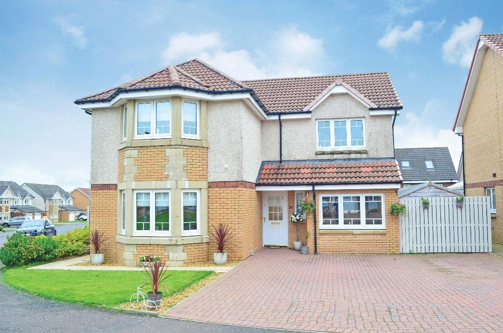 4 Bedrooms Detached House for sale in Toftcombs Avenue, Stonehouse, South Lanarkshire, ml9 3QY