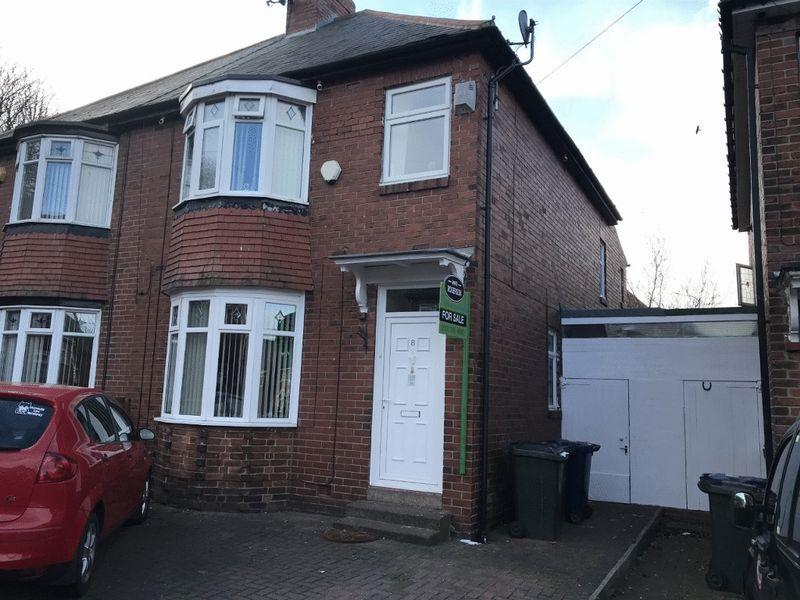 3 Bedrooms Semi Detached House for sale in Hauxley Gardens, Blakelaw, Newcastle Upon Tyne