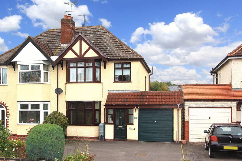 3 Bedrooms Semi Detached House for sale in MERRY HILL, Langley Road