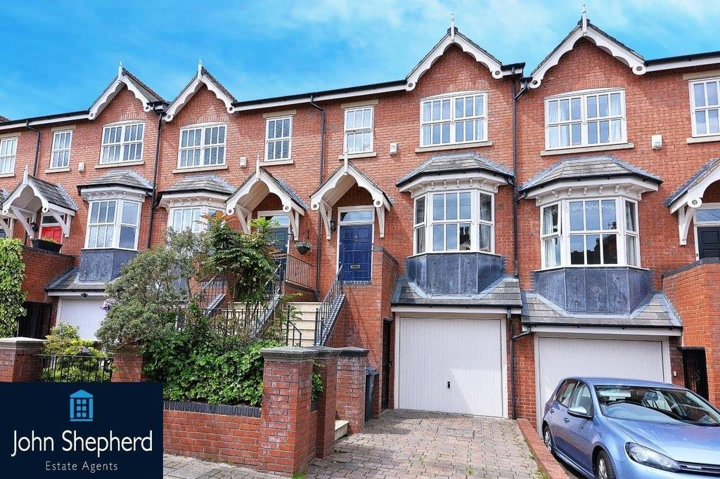 4 Bedrooms Town House for sale in Rose Road, Harborne