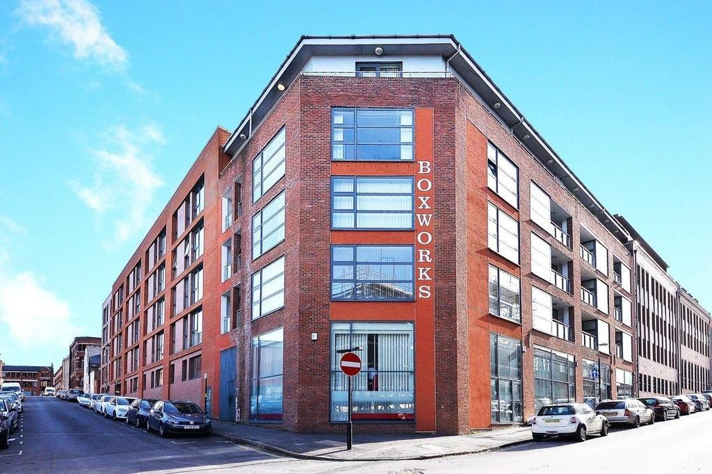 2 Bedrooms Apartment Flat for sale in Boxworks, 35 Tenby Street North