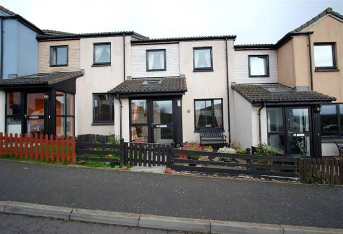 3 Bedrooms Terraced House for sale in 3 Erskine Place, Chirnside, TD11 3WW