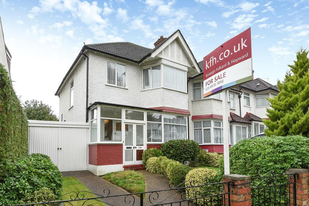 3 Bedrooms End Of Terrace House for sale in Mayfield Avenue, North Finchley