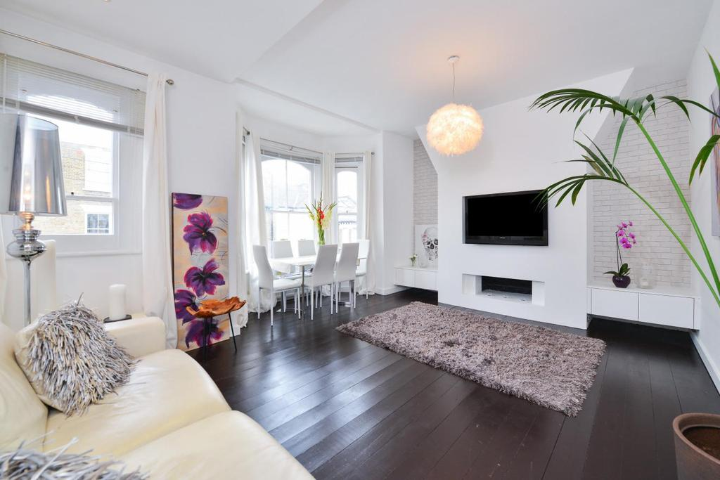3 Bedrooms Flat for sale in Mallinson Road, Battersea