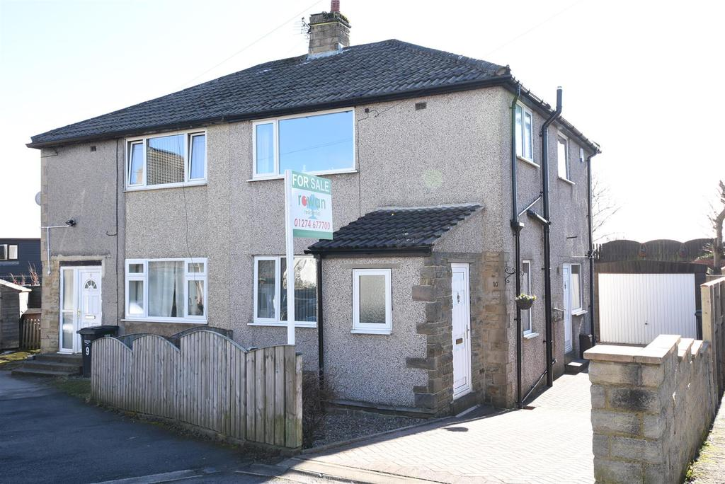 3 Bedrooms Semi Detached House for sale in Cooper Grove, Shelf, Halifax