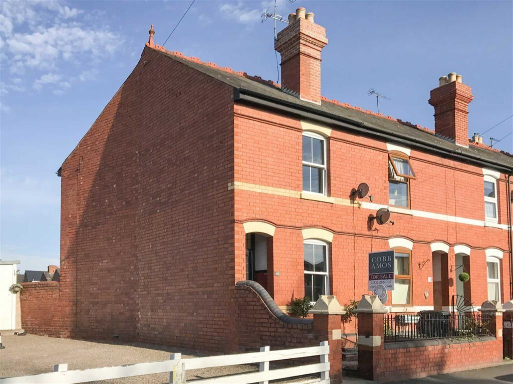 3 Bedrooms End Of Terrace House for sale in Whitecross Road, WHITECROSS, Hereford, Hereford