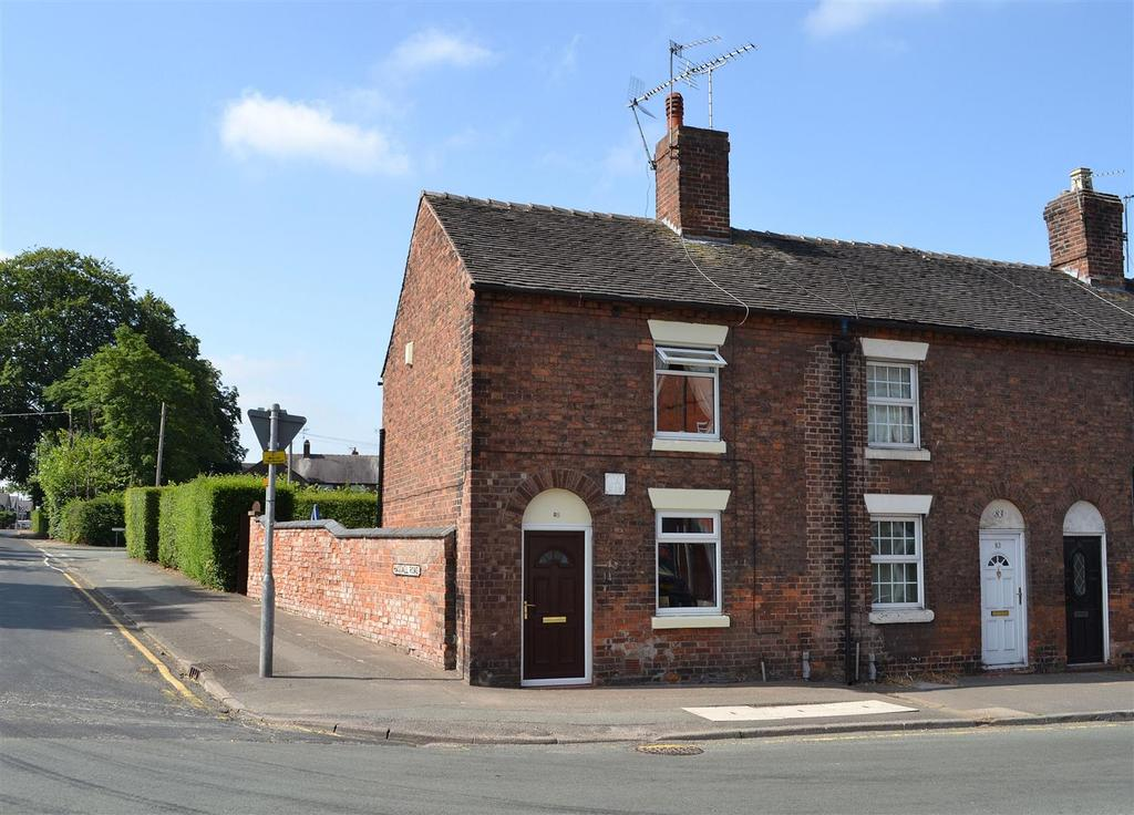 2 Bedrooms End Of Terrace House for sale in The Hill, Sandbach