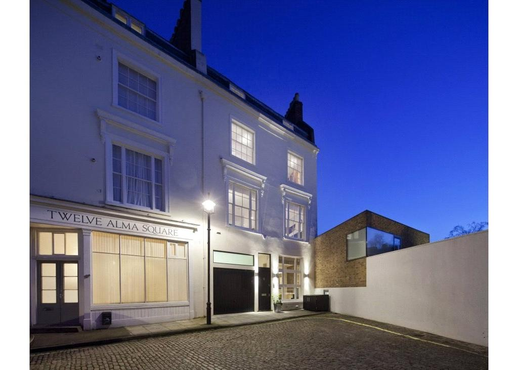 5 Bedrooms Semi Detached House for sale in Alma Square, St John's Wood, London, NW8