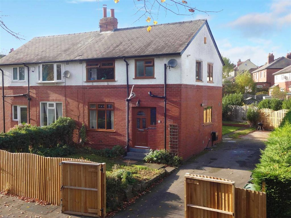 3 Bedrooms Semi Detached House for sale in Wood Lane, Horsforth