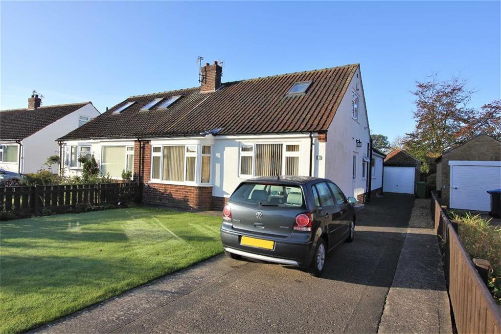 2 Bedrooms Semi Detached Bungalow for sale in Marwood Drive, Middlesbrough