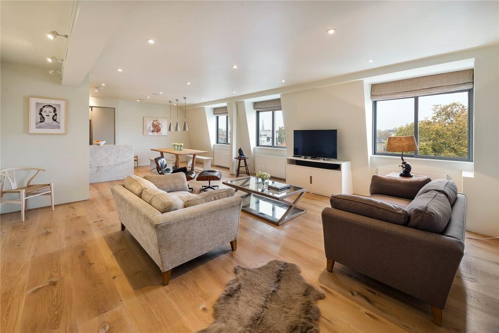 3 Bedrooms Penthouse Flat for sale in Thornbury Court, Chepstow Villas, Notting Hill
