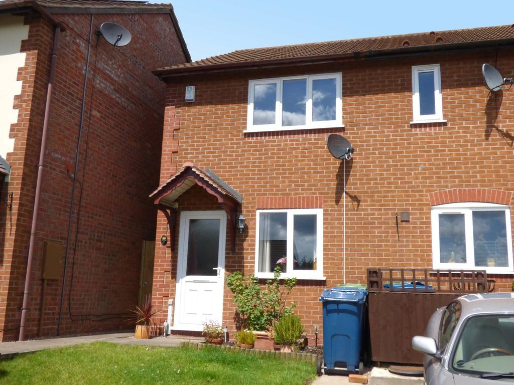 2 Bedrooms Semi Detached House for sale in 37 Kingsland Close, Stone, ST15 8FF