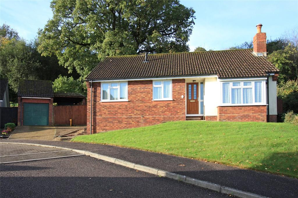3 Bedrooms Detached Bungalow for sale in Linhay Close, Honiton, Devon