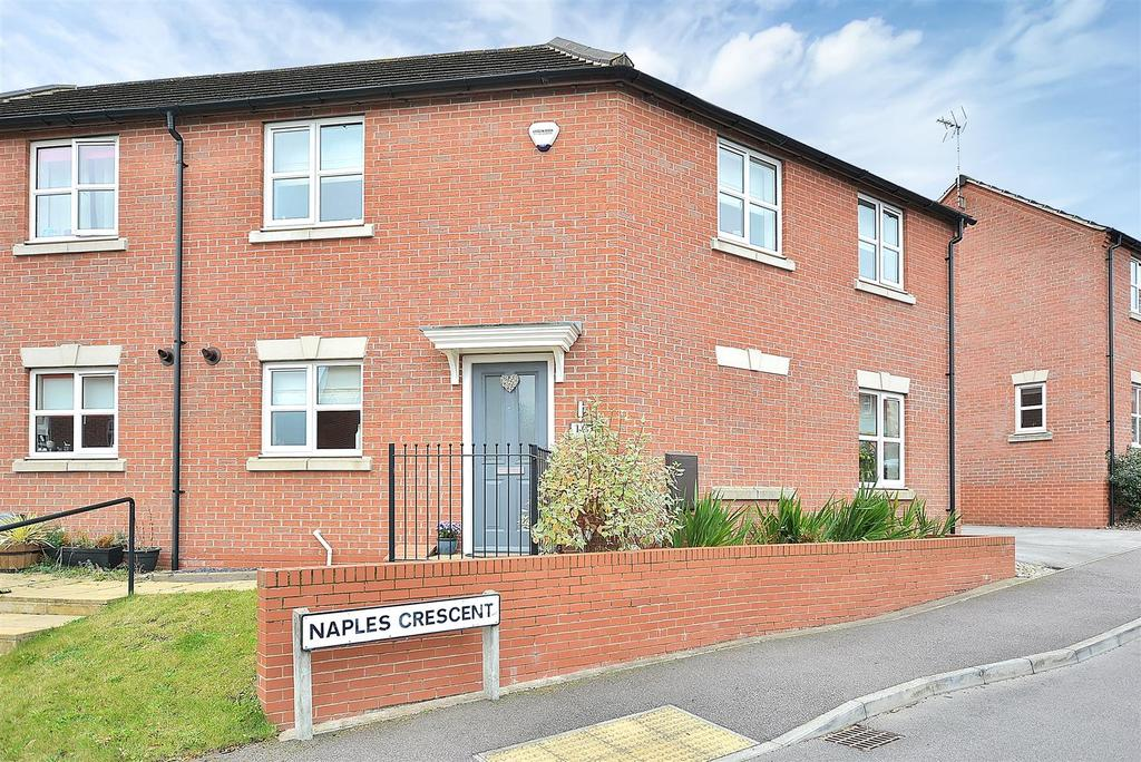 3 Bedrooms Semi Detached House for sale in Naples Crescent, Pleasley