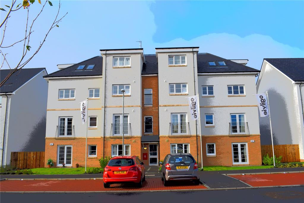 2 Bedrooms Flat for sale in Plot 512, 29M Rollock Street, Stirling, Stirlingshire, FK8