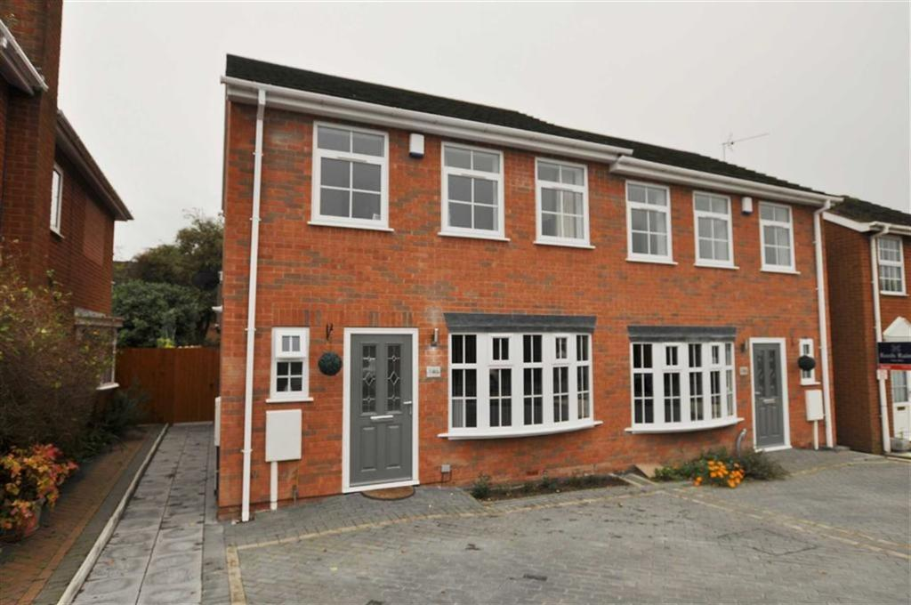 3 Bedrooms Semi Detached House for sale in Charnwood Way, Lillington, Leamington Spa