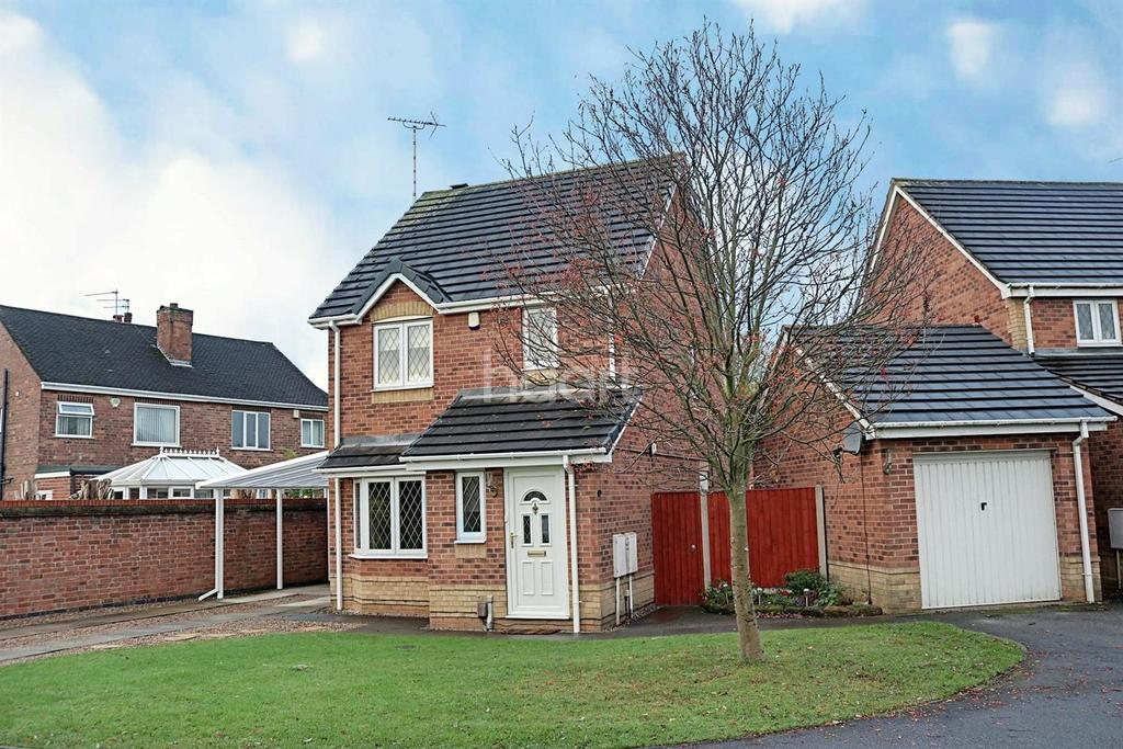 3 Bedrooms Detached House for sale in Vedonis Park, Hucknall