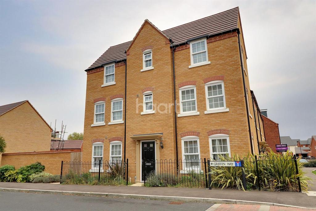 3 Bedrooms End Of Terrace House for sale in Griffin Way, Bedford Meadows