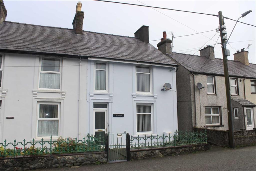 2 Bedrooms End Of Terrace House for sale in Llys Forgan, Llanrug, Gwynedd