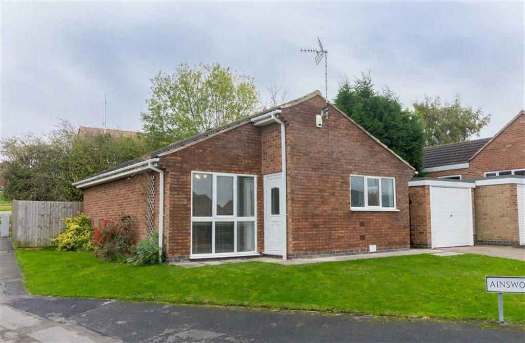 2 Bedrooms Detached Bungalow for sale in Ainsworth Drive, Sileby, LE12