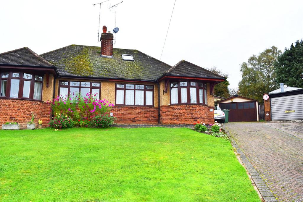3 Bedrooms Semi Detached Bungalow for sale in Golden Riddy, Leighton Buzzard