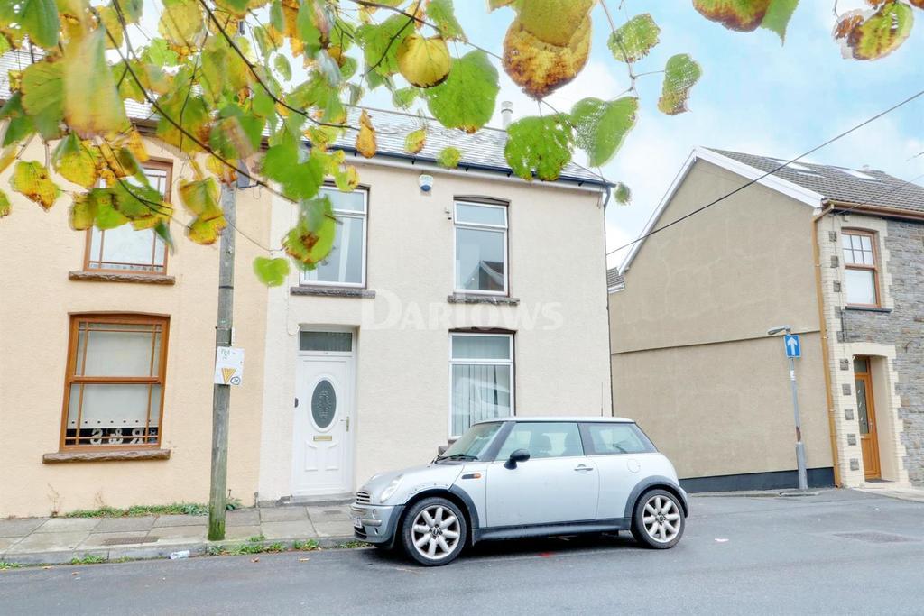 3 Bedrooms End Of Terrace House for sale in Hendrecafn Road, Penygraig