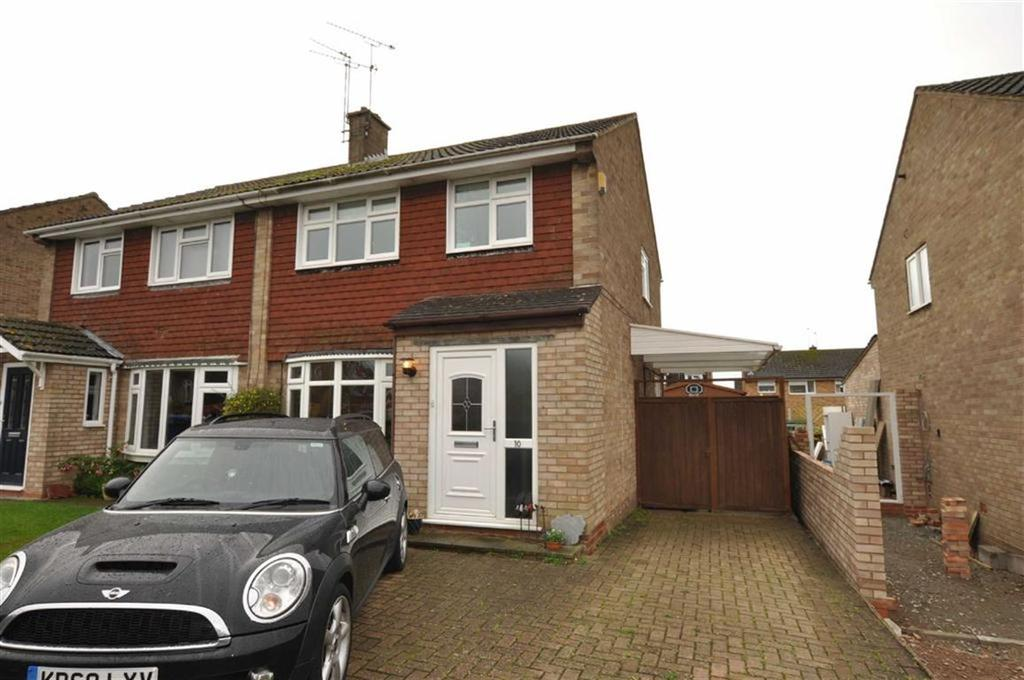 3 Bedrooms Semi Detached House for sale in Orchard Way, Southam