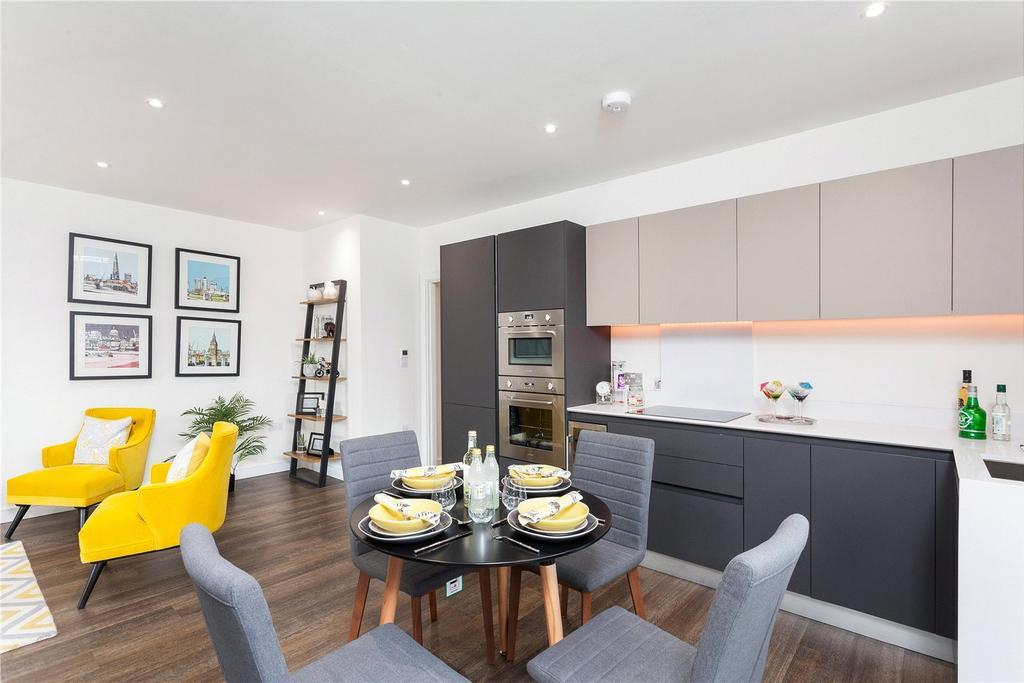 1 Bedroom Flat for sale in Grafton Quarter, Grafton Road, Croydon, CR0