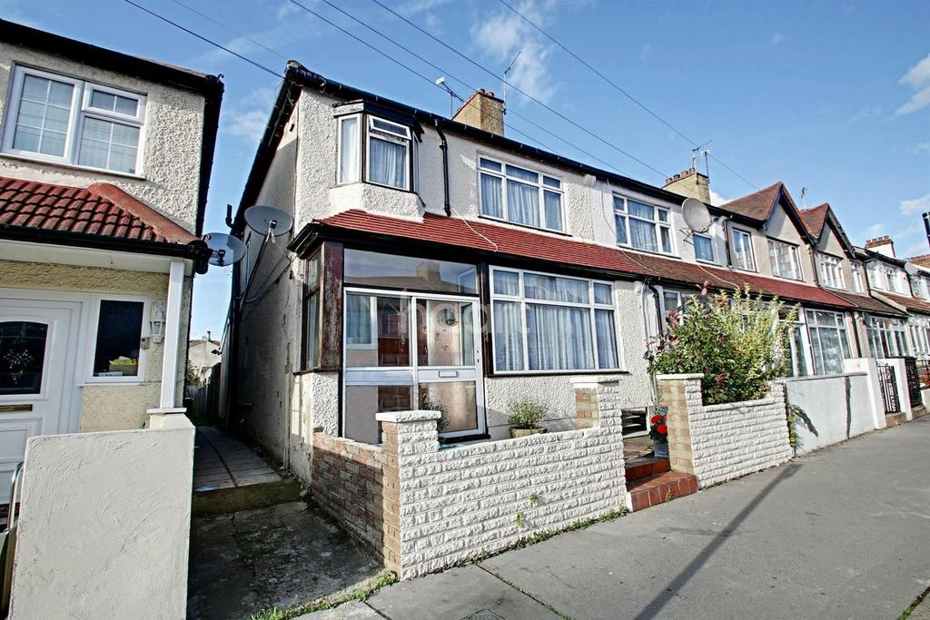 3 Bedrooms End Of Terrace House for sale in Midhurst Avenue, Croydon, CR0