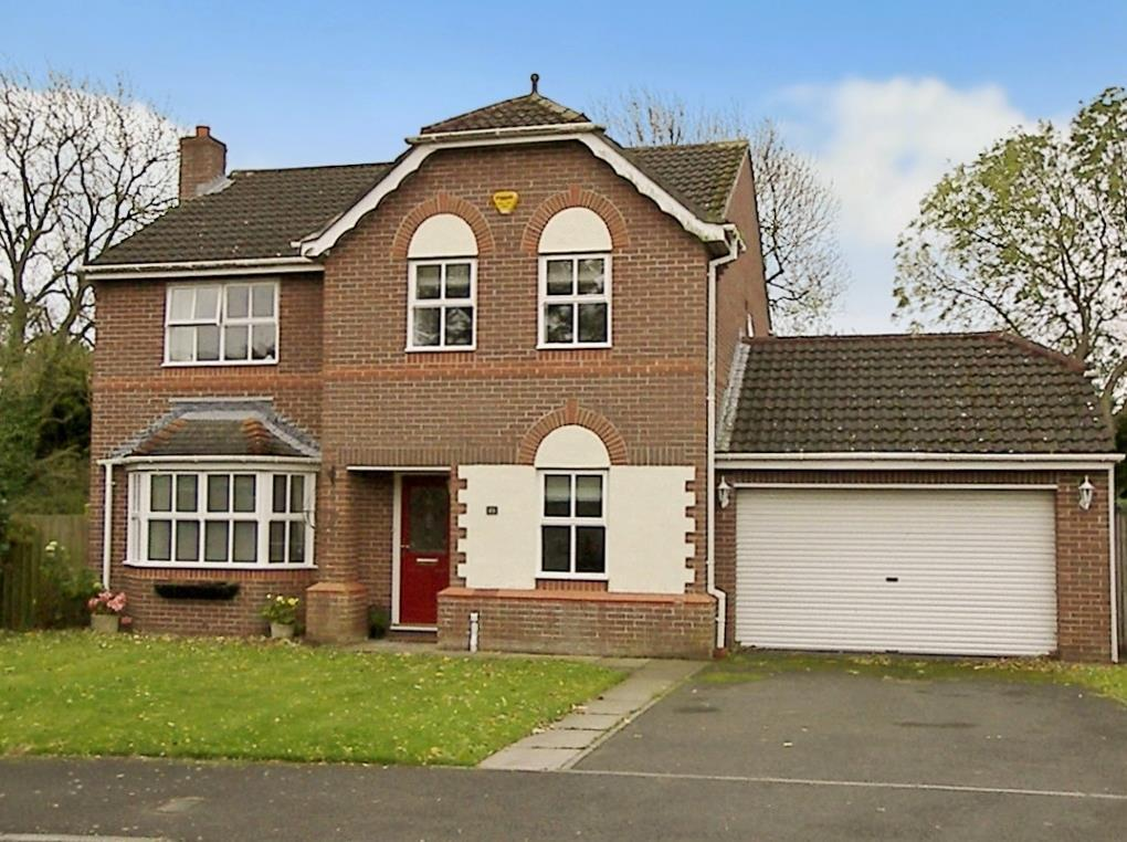 4 Bedrooms Detached House for sale in Church View, Longhorsley, Morpeth