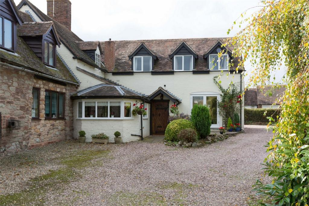 4 Bedrooms Semi Detached House for sale in Church House, Aston Eyre, Bridgnorth, Shropshire