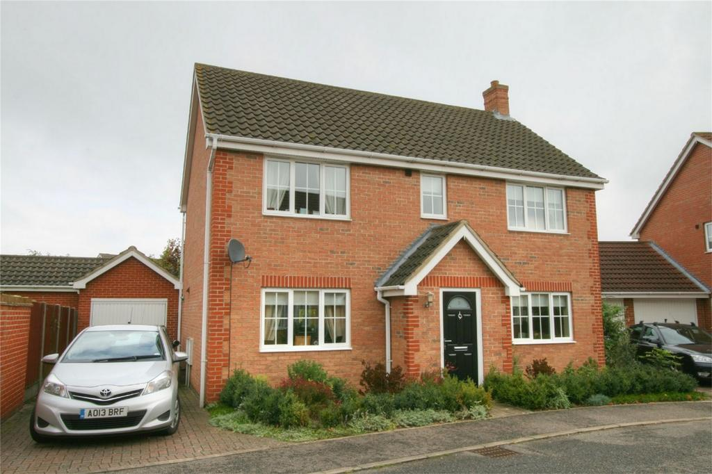 4 Bedrooms Detached House for sale in Tantallon Drive NR17 2SN, ATTLEBOROUGH, Norfolk