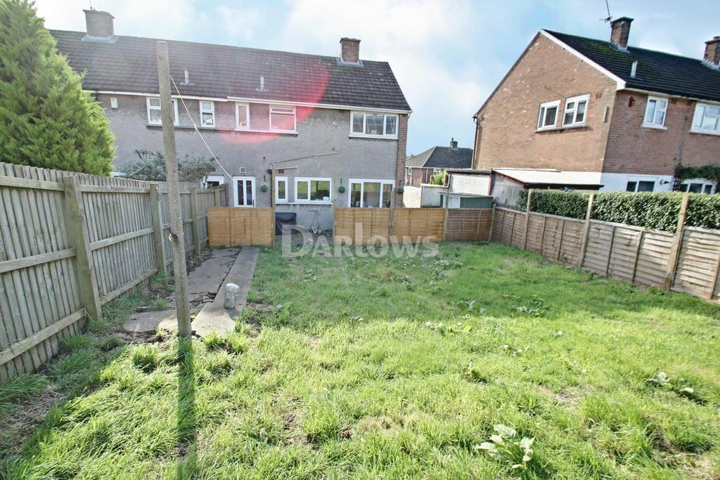 3 Bedrooms End Of Terrace House for sale in Braunton Avenue, Llanrumney, Cardiff