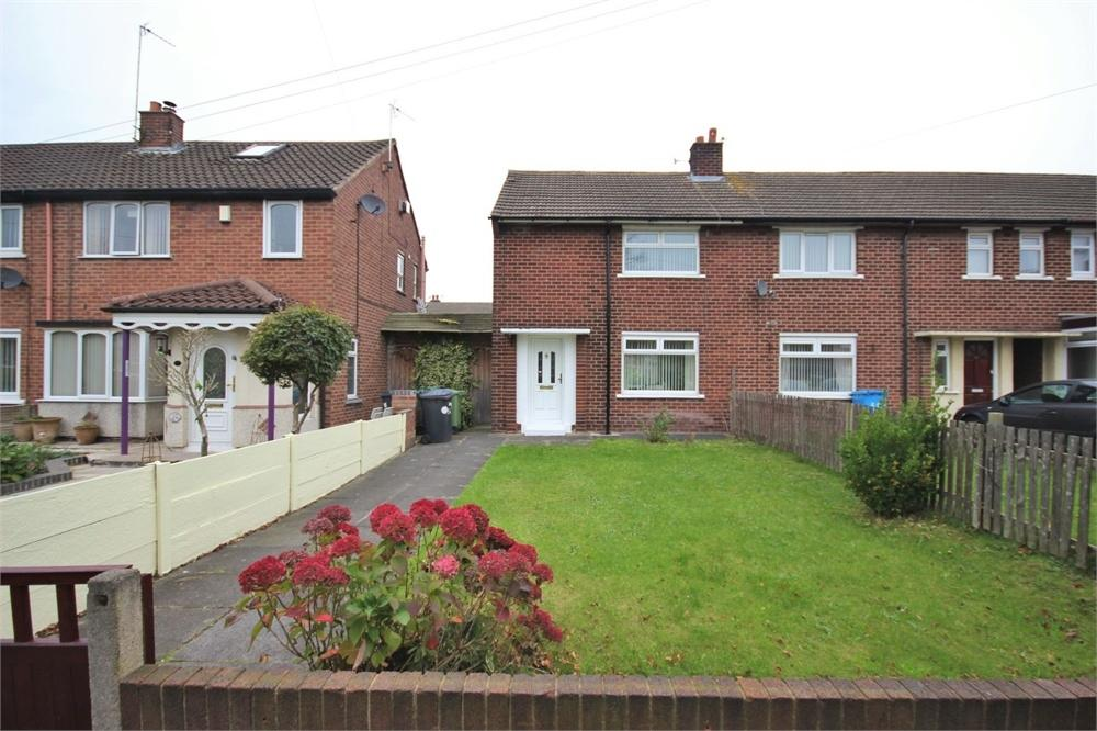2 Bedrooms End Of Terrace House for sale in Edinburgh Road, WIDNES, Cheshire
